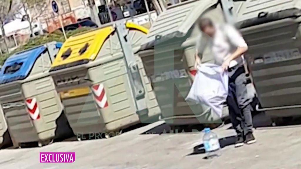 Los Mossos grabaron a Aitor deshaciéndose de las pruebas del crimen