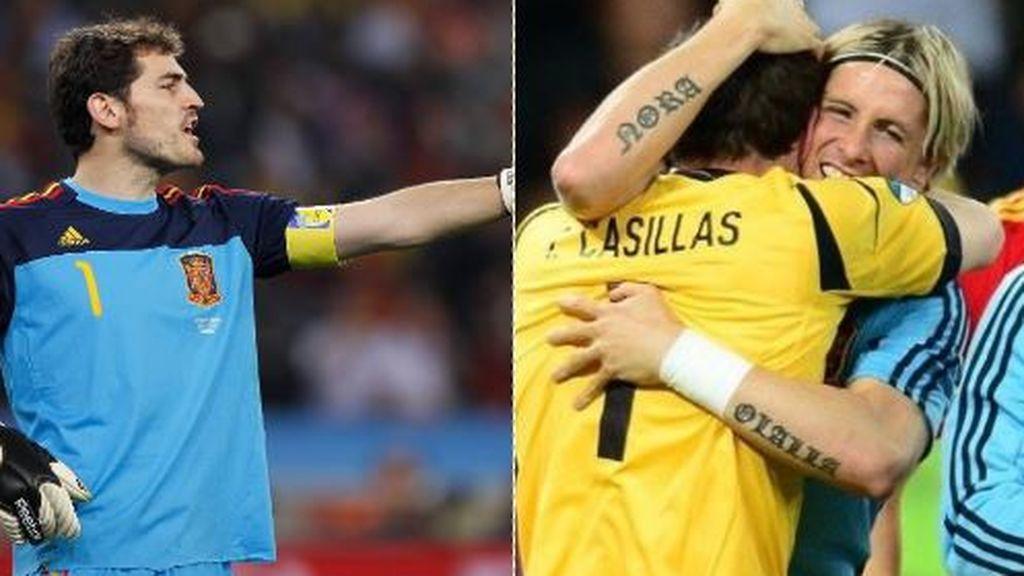 """El emotivo mensaje de Casillas a Fernando Torres: """"Siéntete muy orgulloso de todo lo que le has dado al fútbol"""""""