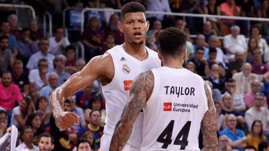 El Real Madrid, campeón de la ACB tras vencer al FC Barcelona en el Palau (x-x)