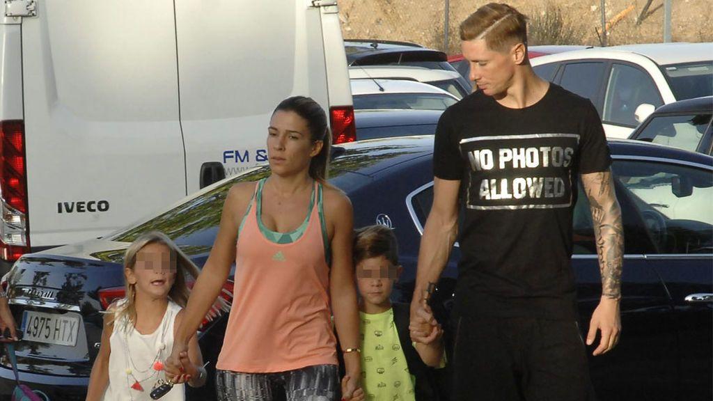 Fernando Torres deja el fútbol: Olalla, los niños y el entorno familiar con el que ahora podrá pasar más tiempo
