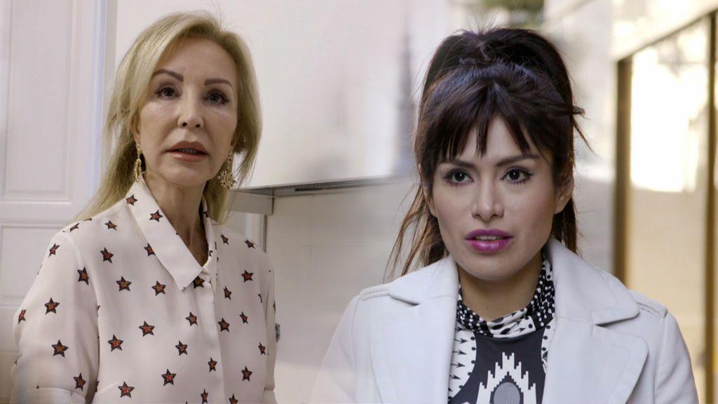 Resentida, acomplejada y 'patona': lluvia de 'zascas' entre Miriam Saavedra y Carmen Lomana