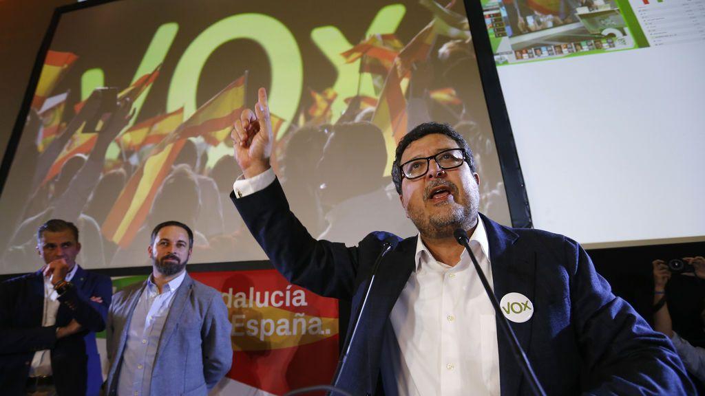 El el presidente de VOX en el parlamento andaluz critica la sentencia de 'La Manada'