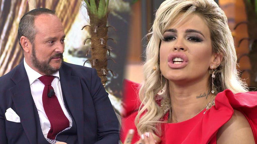 Nacho Montes critica el vestido de Ylenia y ella le responde con un gran zasca