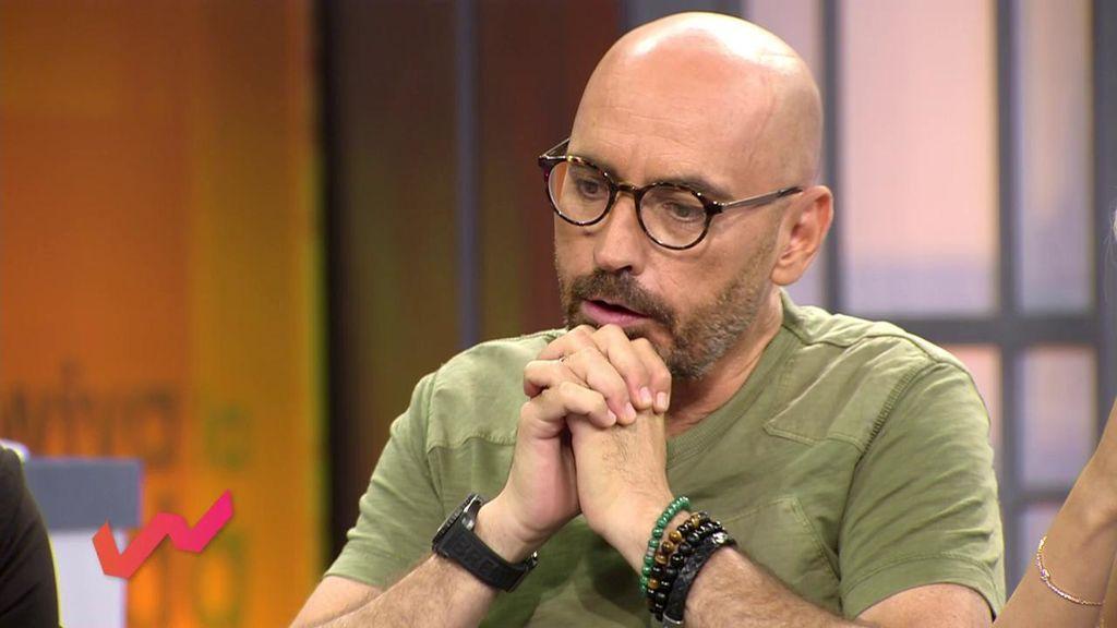 Diego Arrabal asegura que se han encontrado un tanga negro en la zona de baile de la boda de Belén Esteban