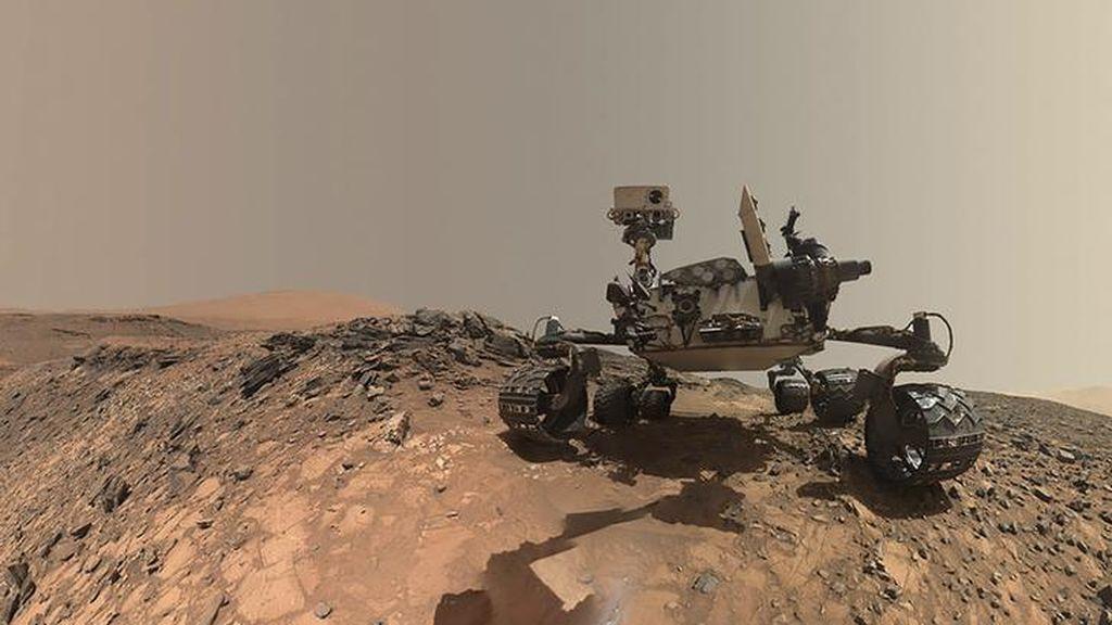 Un rover de la NASA descubre posibles evidencias de vida extraterrestre en Marte