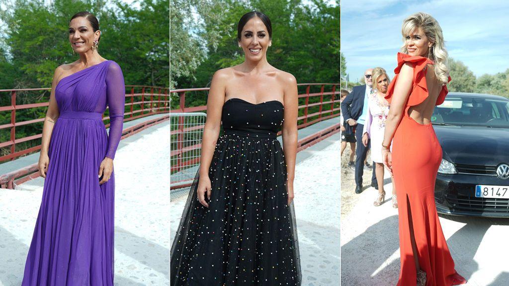 Aciertos y errores de los looks de los invitados a la boda de Belén Esteban
