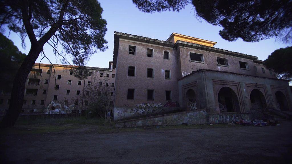 Gritos y destellos misteriosos de luz en el abandonado sanatorio de tuberculosos de Boecillos