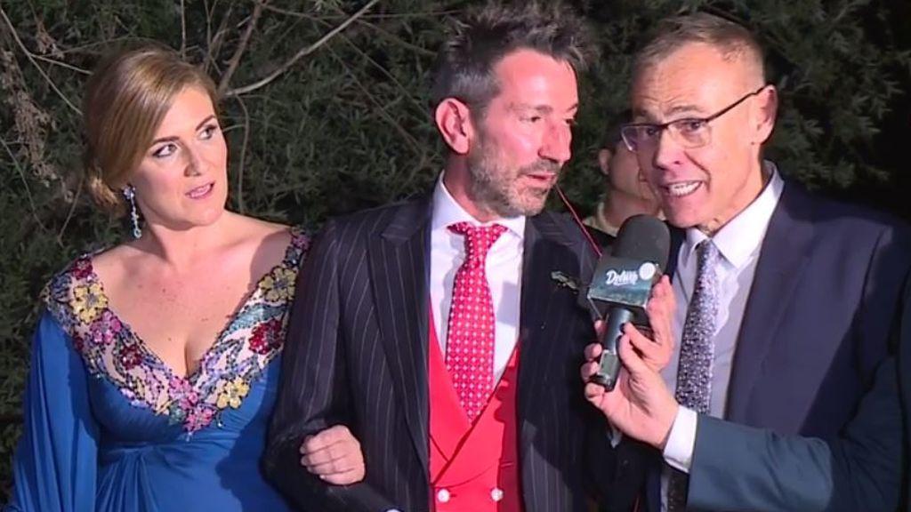 Jordi González asegura que hubo gente que tenía móvil en la boda