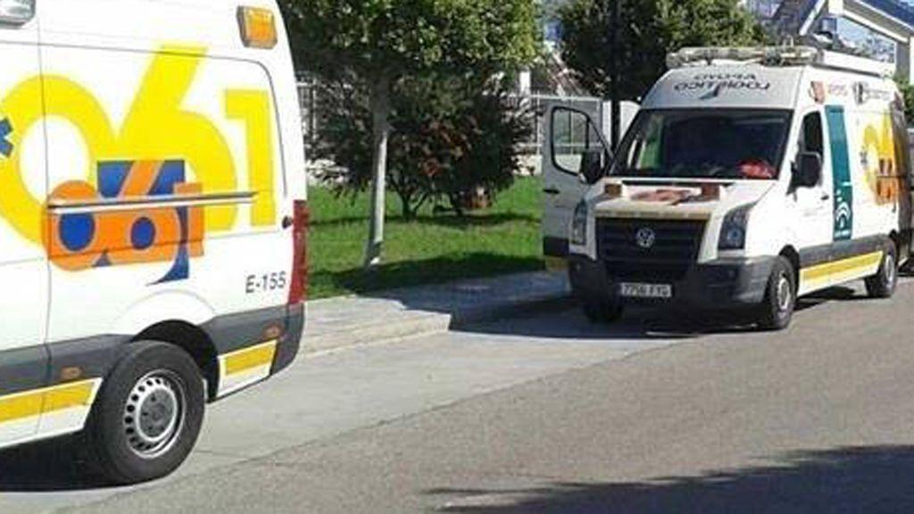 Heridos tres trabajadores tras caer desde 20 metros de altura en el recinto ferial de Córdoba