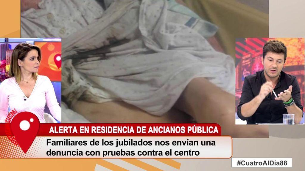 'Cuatro al día' destapa las insalubres condiciones de una residencia de ancianos en Madrid
