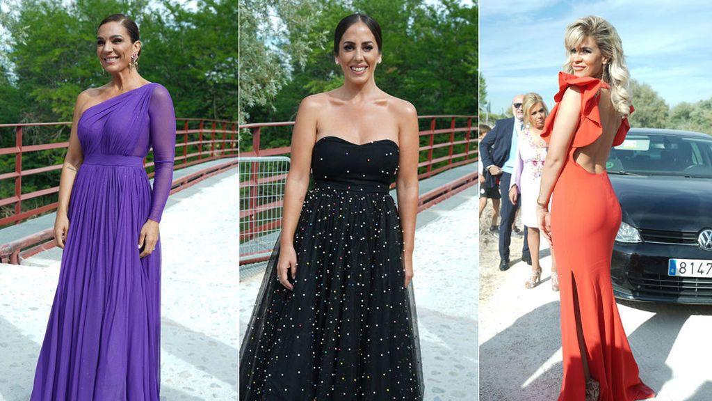 Los look de los invitados a la boda de Belén Esteban