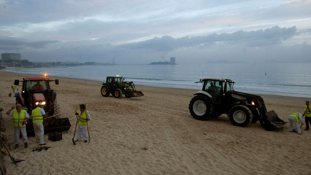 Las playas vuelven a estar aparentemente limpias