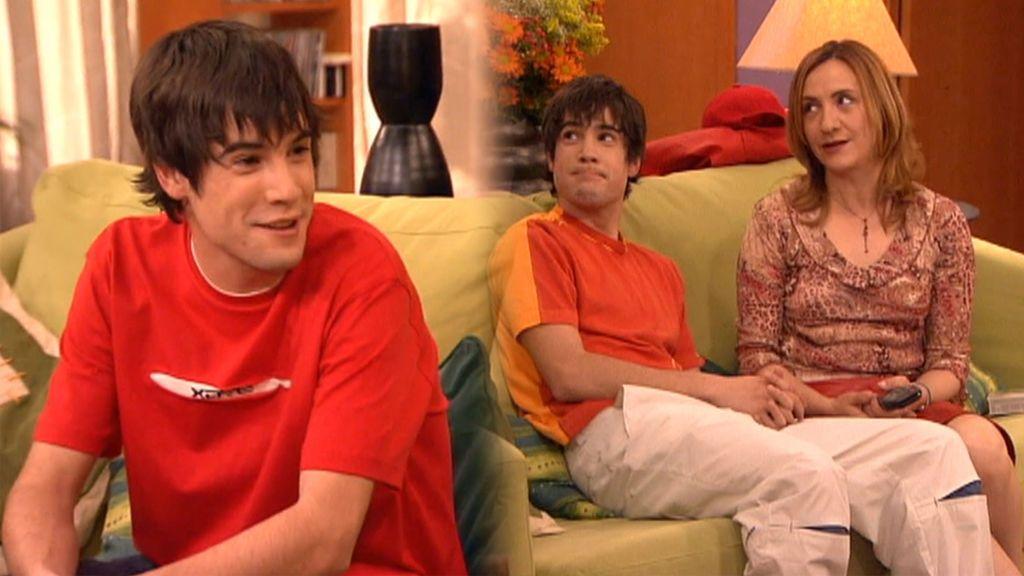 El cameo de Unax Ugalde en '7 vidas' en 2002