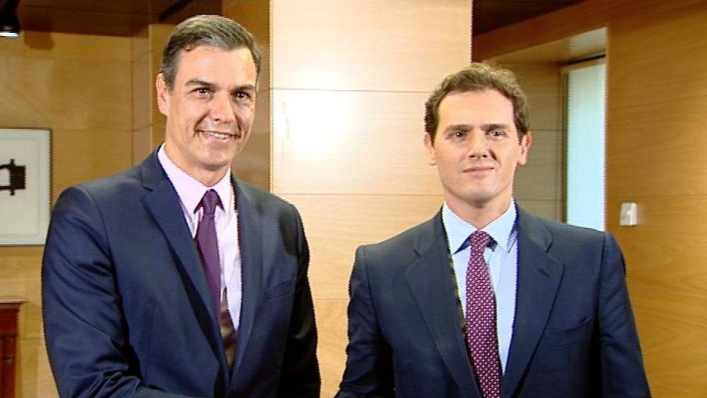 Sánchez y Rivera en el Congreso de los Diputados