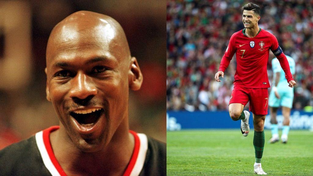 "La foto de Cristiano Ronaldo con Michael Jordan: ""Hicimos historia"""