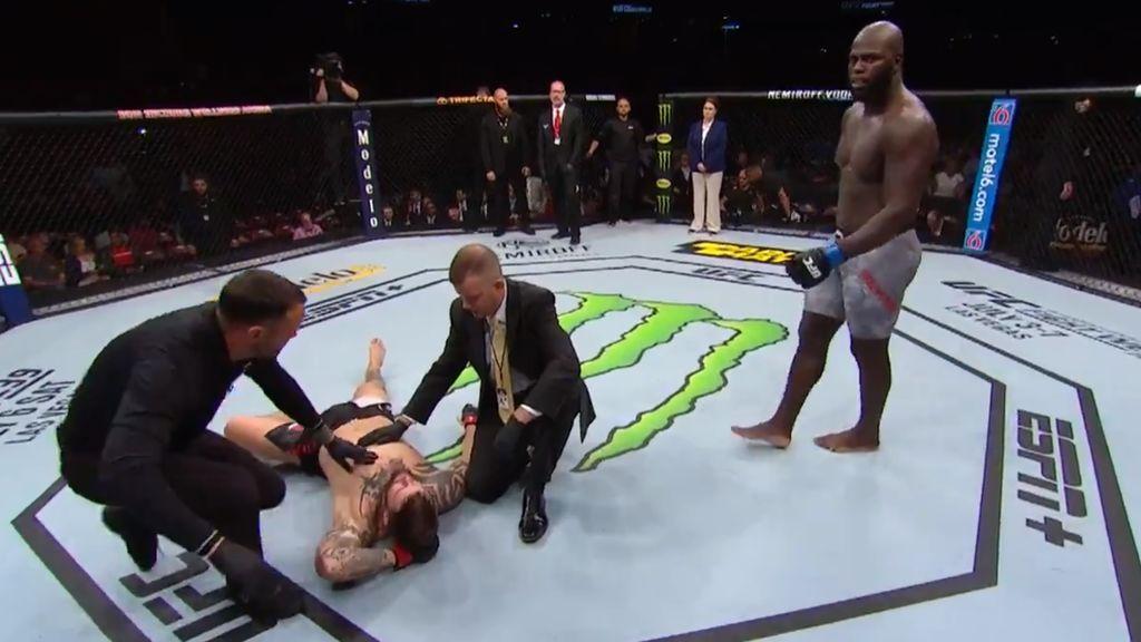 Tres golpes, nueve segundos: El segundo nocaut más rápido en la historia de la MMA