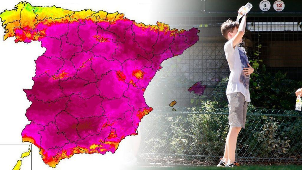 44 grados en Aragón, Navarra o Madrid: los sitios donde más dura va a ser la ola de calor