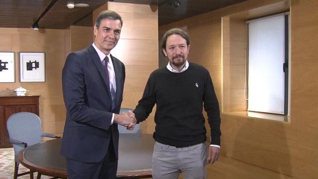 Iglesias responde a Sánchez, una negociación discreta y un gobierno de coalición