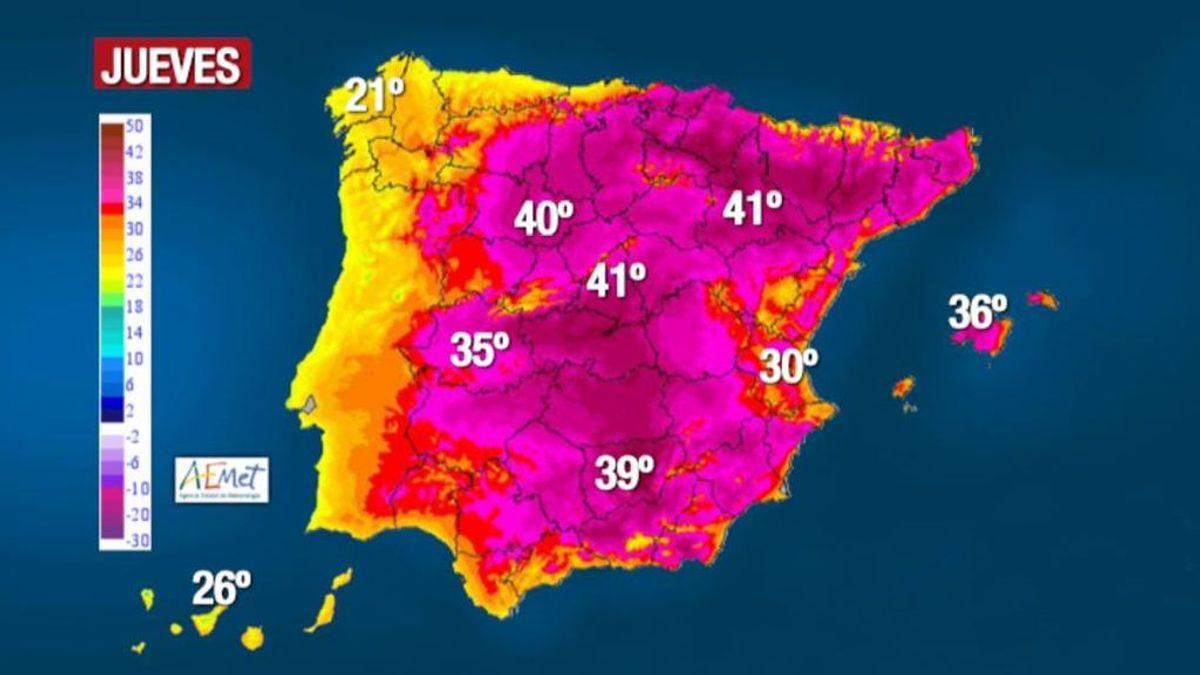 Llega la primera ola de calor del verano a España y a parte de Europa