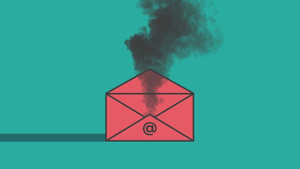 Tus correos electrónicos contaminan