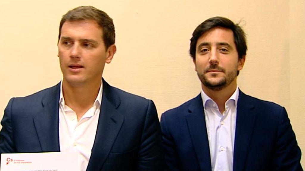 Roldán,  el economista defraudado con Rivera