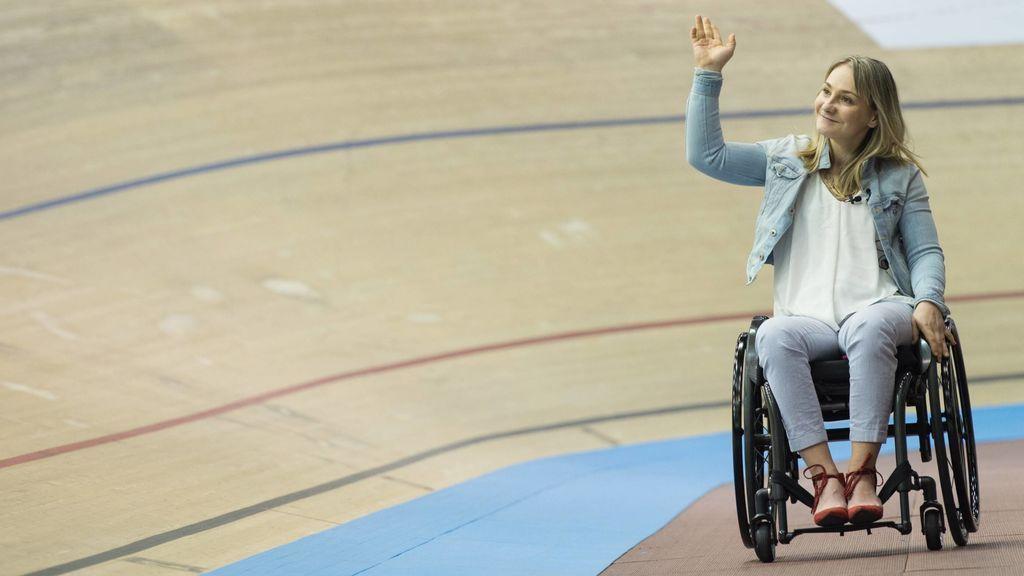 """La increíble historia de superación de Vogel, la ciclista olímpica que se quedó paralítica en un accidente: """"Cuando una puerta se cierra, otra se abre"""""""