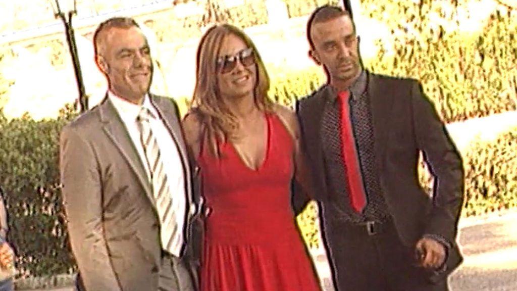 Así iban vestidos los invitados en la primera boda de Belén Esteban en 2008