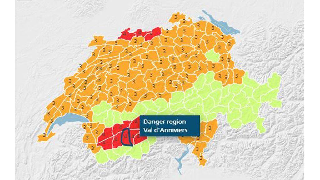Suiza es el único país que por ahora ha activado el aviso rojo en algunas provincias por el calor