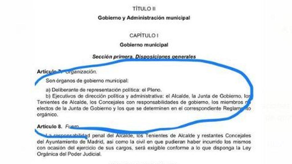 Ley del Gobierno y Administración municipal