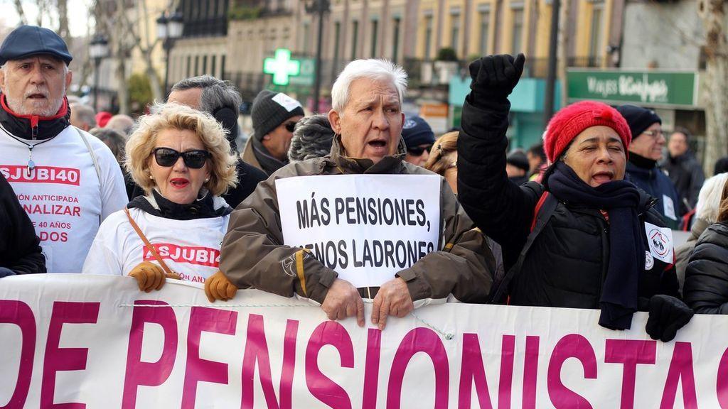 El gasto en pensiones se eleva en junio hasta la cifra récord de 9.644 millones