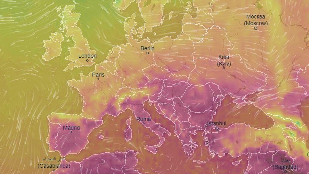 Cómo afrontan la ola de calor en cada país de Europa