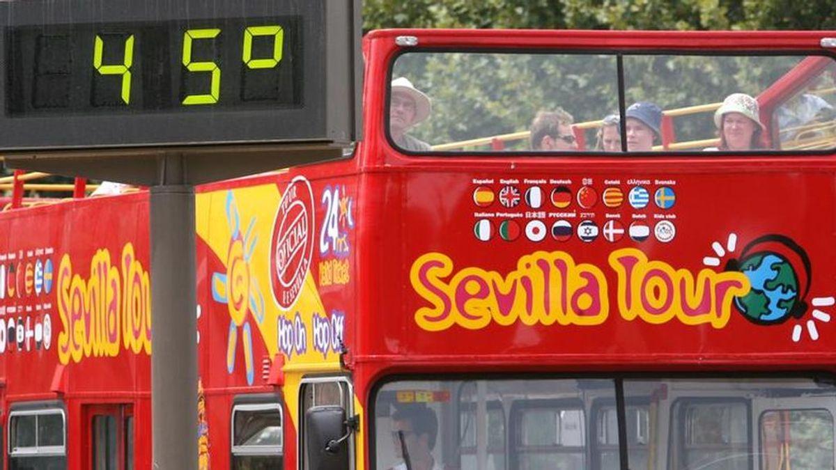 De momento Barcelona se lleva la palma con 36 grados a las 10 de la mañana