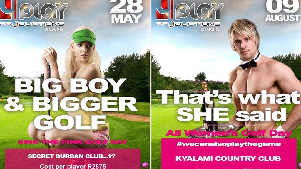 """Torneos de golf que premian a los jugadores con """"mujeres y hombres desnudos"""""""