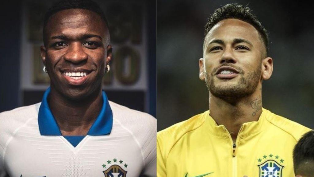 Neymar, invitado estrella de la fiesta de cumpleaños de Vinicius junto a los madridistas Marcelo y Rodrygo