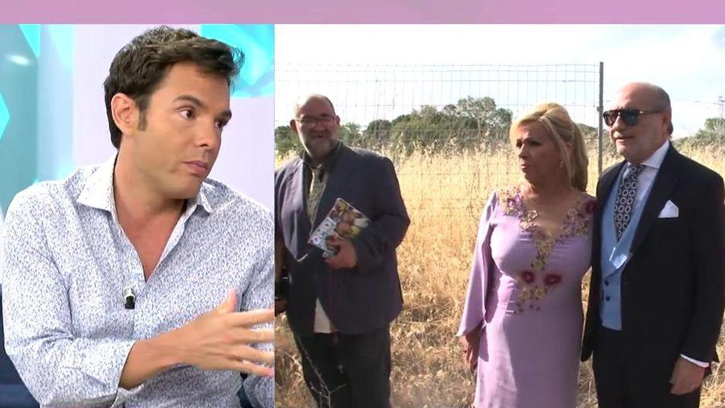 """Rossi, sobre el comportamiento de las Campos en la boda de Belén Esteban: """"Vi a Terelu más relajada cuando Carmen y Teresa se fueron"""""""