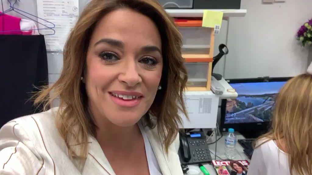 Toñi Morena confirma con sus primeras palabras su embarazo