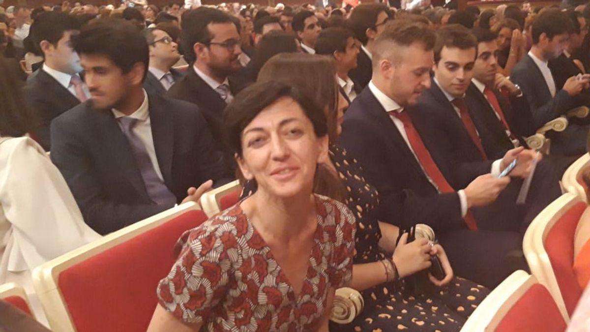 Marta Bueno, invidente y premio Fin de Carrera por tener uno de los mejores expedientes universitarios