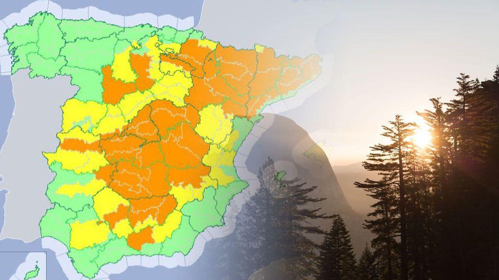 Aviso naranja por más de 38ºC los Pirineos: hace dos semanas estaba nevando