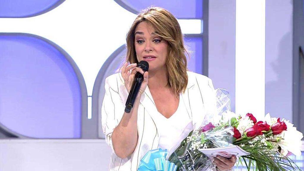 """El equipo de 'MyH' felicita a Toñi Moreno por su embarazo: """"Estoy de poco tiempo y lo he pasado muy mal hasta llegar aquí"""""""