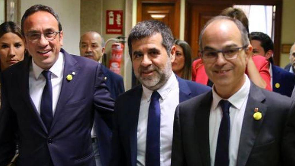 Sánchez tiene más clara la investidura: Los presos de JxCat apuestan por la abstenciónj