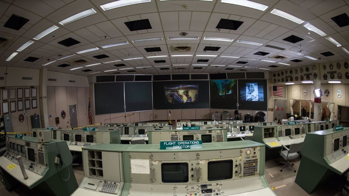 La NASA reconstruye la sala de control de las misiones Apollo