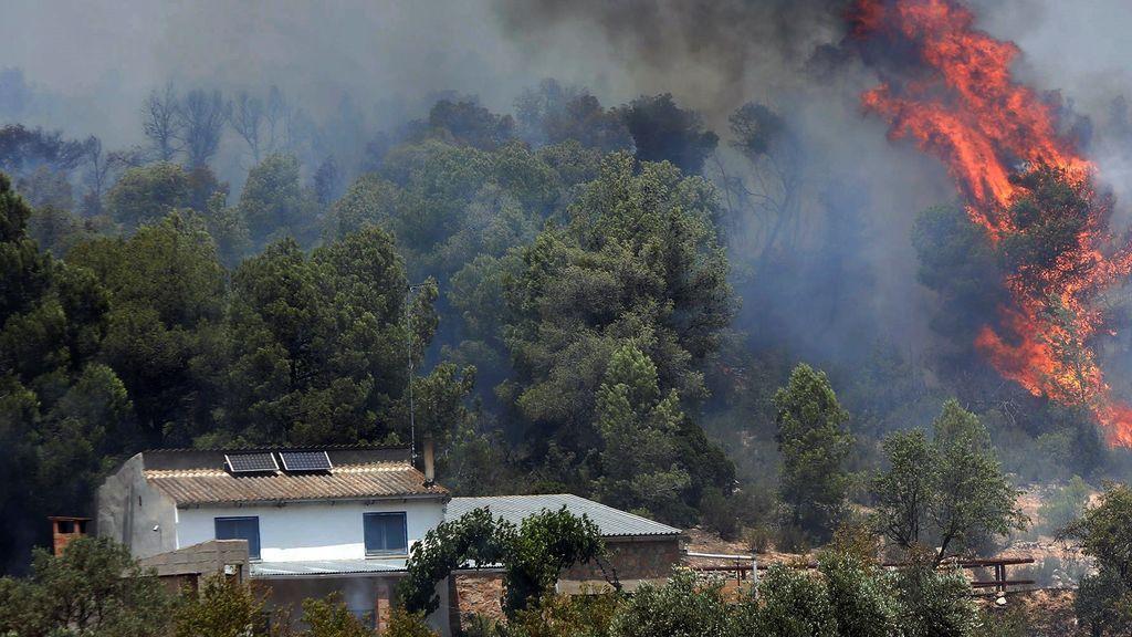 Nuevos incendios en  Corbera d'Ebre (Tarragona), Campdevànol (Girona) yLa Fatarella (Terra Alta)in