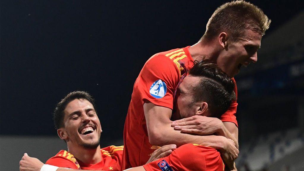 España buscará su quinto título de Eurocopa Sub21 ante Alemania el domingo a las 21:00 en Cuatro