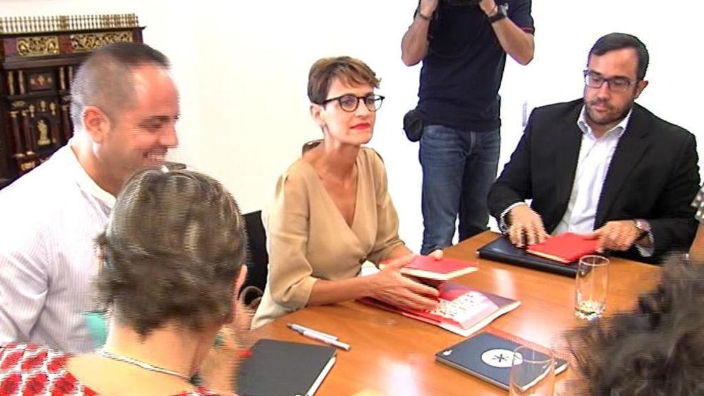 Fracasa la primera ronda de contactos para gobernar Navarra