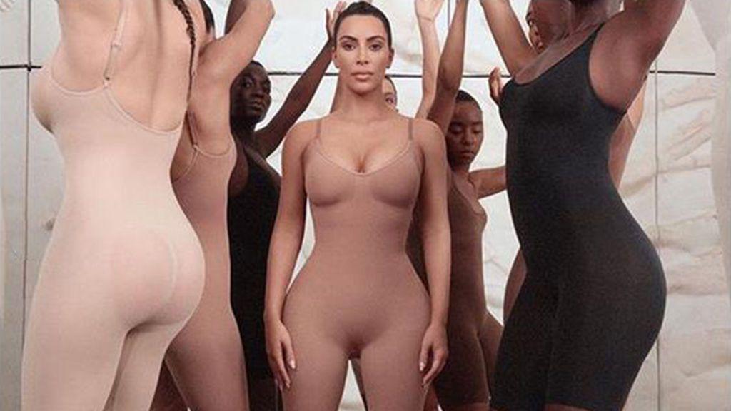 Todos los detalles de la nueva línea de ropa interior tipo faja de Kim Kardashian