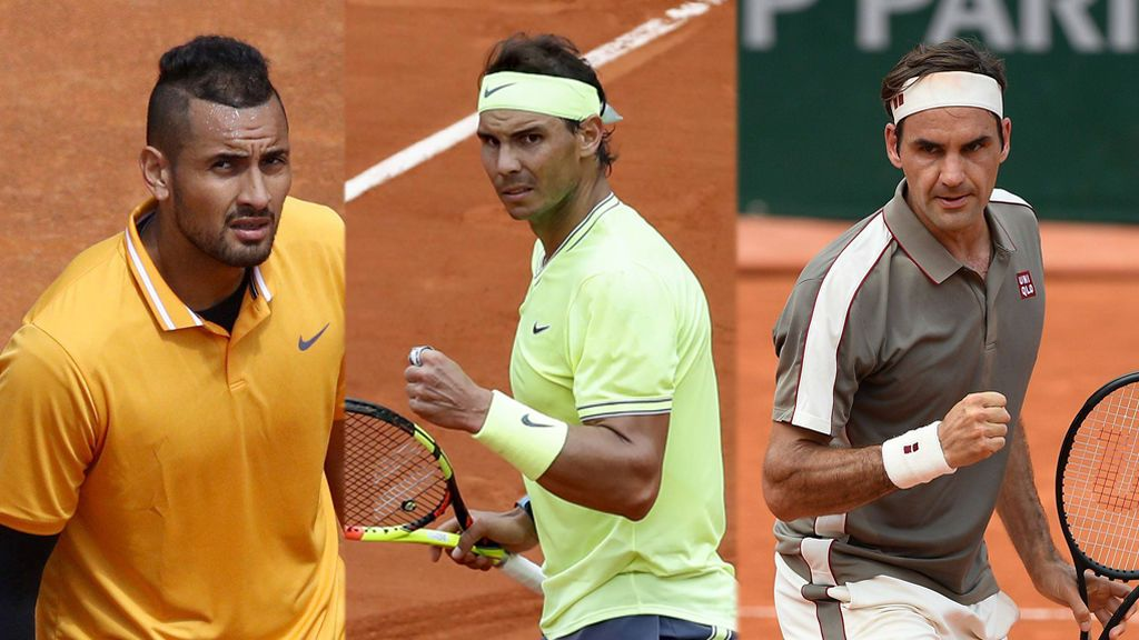 Nadal debutará en Wimbledon contra Sugita y tendrá en su camino a Kyrgios y Federer