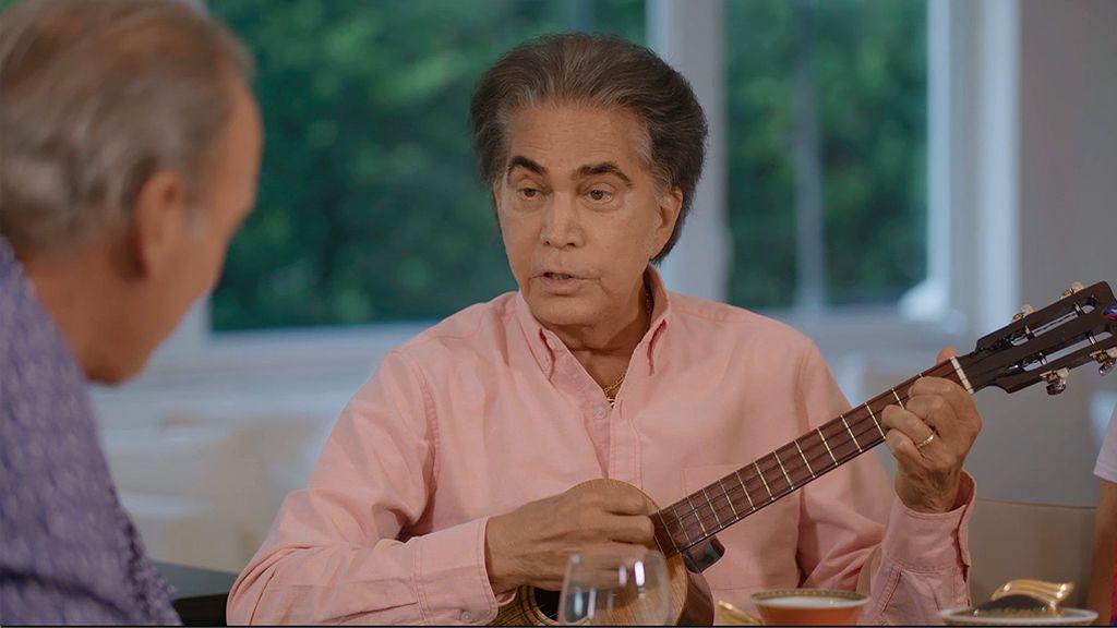 José Luis Rodríguez 'El Puma' canta con Bertín Osborne
