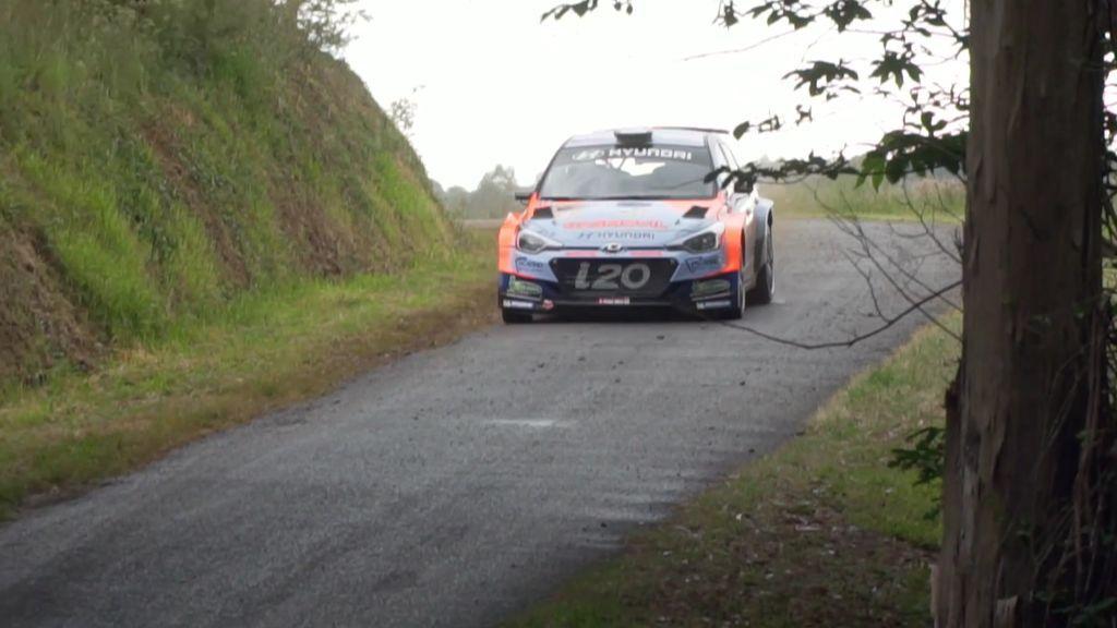 Iván Ares gana el Rally Do Cocido y se pone al frente del Campeonato de España de Rallyes de Asfalto