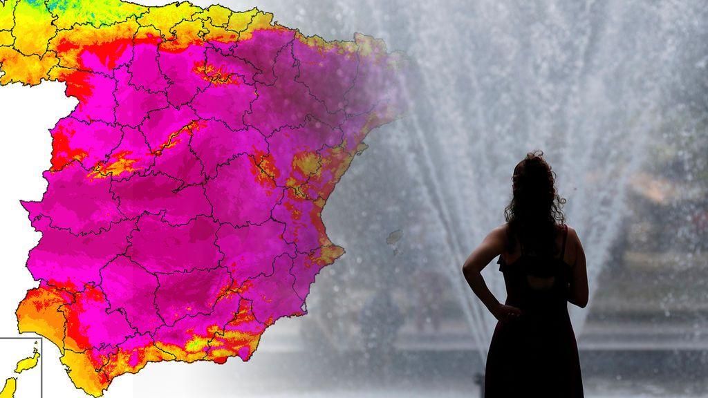 Sábado infernal: precaución en el peor día de la ola de calor
