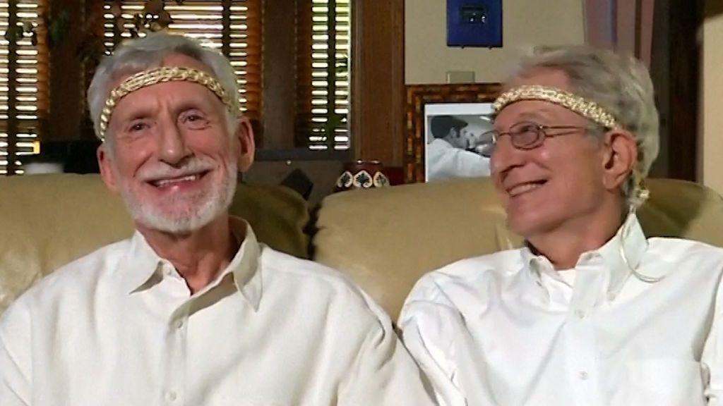 La pareja gay más antigua de Estados Unidos cumple 48 años de casados